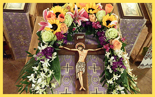 Hierarchical Liturgy on the 3rd Sunday of Great Lent, the Veneration of the Holy Cross