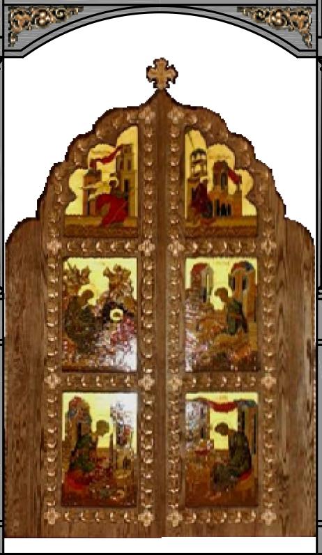 New Iconostasis ROYAL DOORS & Chapel Needs - All Saints - Russian Orthodox Church Las Vegas