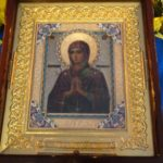 "Icon of the Theotokos ""Softener of Evil Hearts"" from Russia"